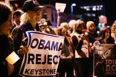 Santa Monica Rally Against Keystone XL Pipeline 9 credit: Kleinhenz/Docuvitae