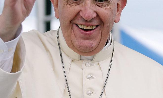 https://commons.wikimedia.org/wiki/File:Pope_Francis_Korea_Haemi_Castle_19_(cropped).jpg