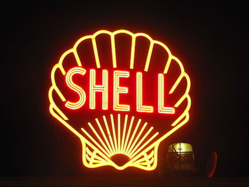 Energy company Shell