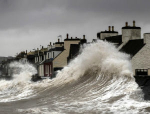 coastal flooding sea level rise storm David Baird Acclimatise