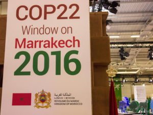 Marrakech poster Climate Alliance Org:flickr