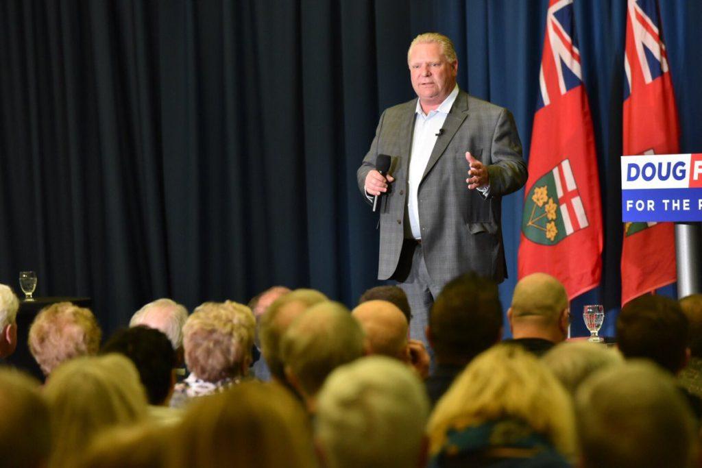 Doug Ford Ontario government