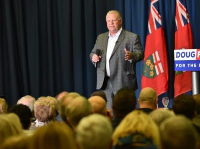 Doug Ford Ontario government