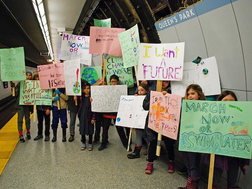 Students Take Action on Climate Anxiety as #FridaysforFuture Logs