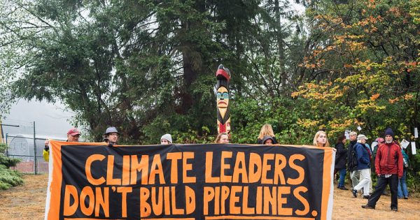 March to Stop Trans Mountain Oil Pipeline