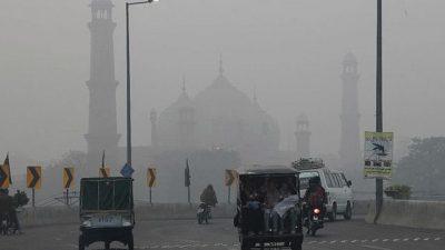 Air quality Lahore Pakistan