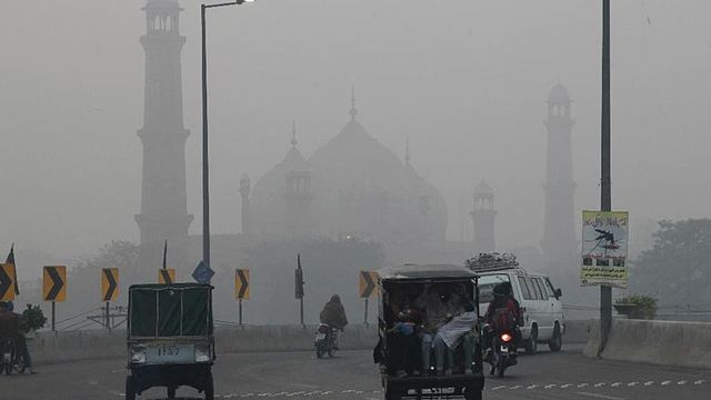 Air quality Lahore Pakistan
