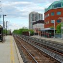 Via Rail Go Transit commuter train Brampton Innisfil Ontario