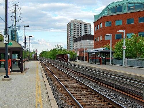 Via Rail Go Transit commuter train Brampton Innisfil Ontario
