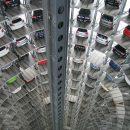 multi-storey Volkswagen parking lot
