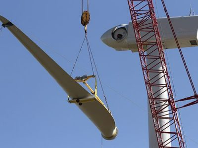 wind turbine construction